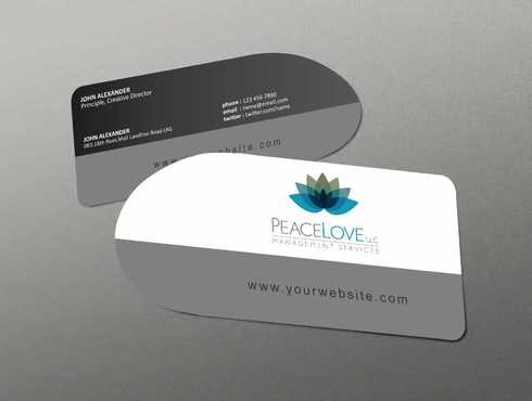 Peace Love LLC  Business Cards and Stationery  Draft # 164 by DesignBlast
