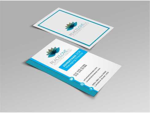 Peace Love LLC  Business Cards and Stationery  Draft # 168 by DesignBlast