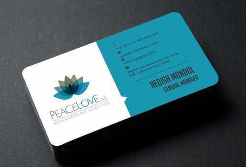 Peace Love LLC  Business Cards and Stationery  Draft # 174 by DesignBlast