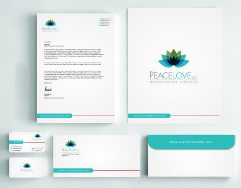 Peace Love LLC  Business Cards and Stationery  Draft # 183 by DesignBlast