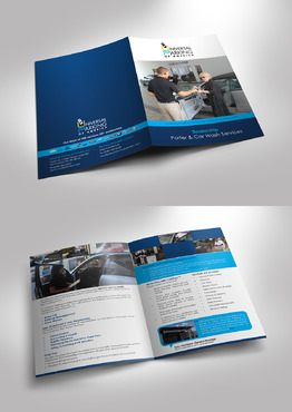 Porter, Valet and Detail/Car Wash Marketing collateral Winning Design by jameelbukhari