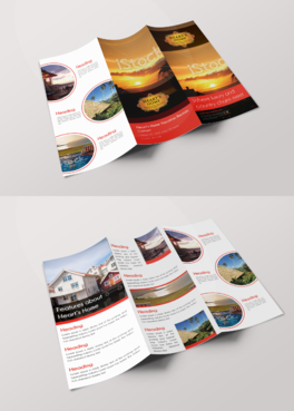 Heart's Home Vacation Rentals Marketing collateral  Draft # 13 by Creativecurvez
