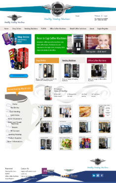 "Purevend ""healthy vending machines"" Complete Web Design Solution  Draft # 28 by Pavel"