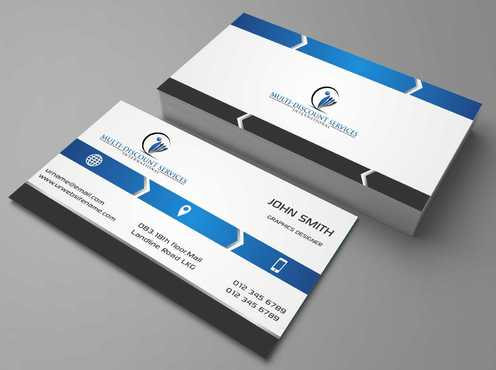 Multi-Discount Services International Business Cards and Stationery  Draft # 113 by DesignBlast
