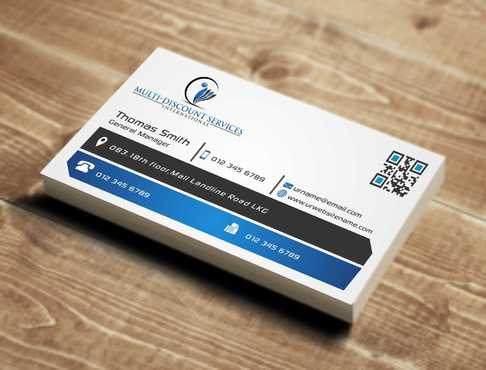Multi-Discount Services International Business Cards and Stationery  Draft # 119 by DesignBlast