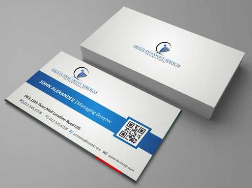 Multi-Discount Services International Business Cards and Stationery  Draft # 123 by DesignBlast