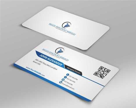 Multi-Discount Services International Business Cards and Stationery  Draft # 124 by DesignBlast