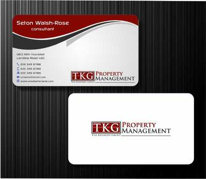 Logos Attached Business Cards and Stationery  Draft # 194 by Dawson