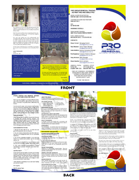Pro group remedial Marketing collateral  Draft # 8 by jestony
