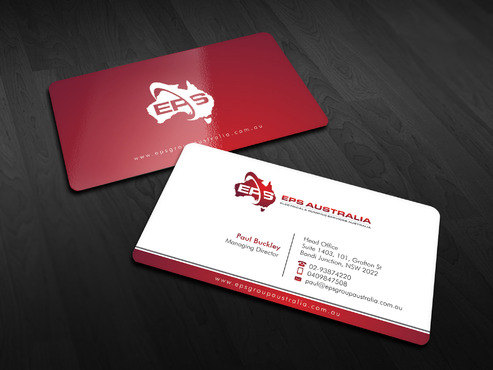 EPS Group Australia Business Cards and Stationery  Draft # 2 by Xpert