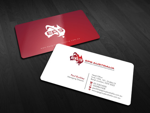 EPS Group Australia Business Cards and Stationery  Draft # 3 by Xpert