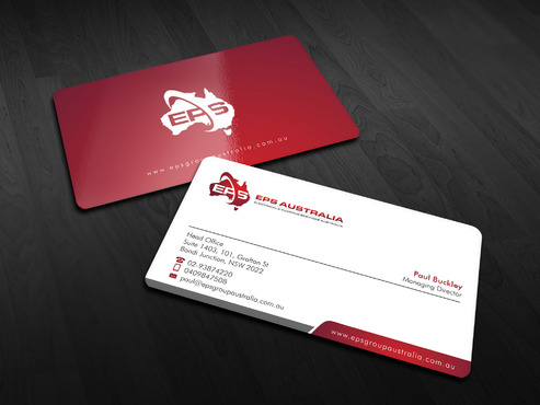 EPS Group Australia Business Cards and Stationery  Draft # 7 by Xpert
