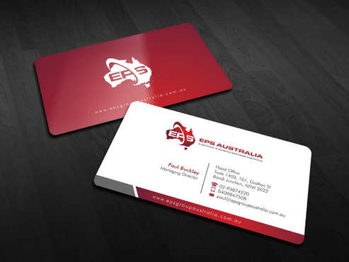 EPS Group Australia Business Cards and Stationery  Draft # 10 by Xpert