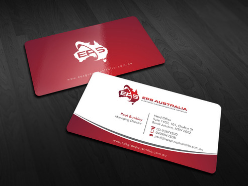 EPS Group Australia Business Cards and Stationery  Draft # 11 by Xpert