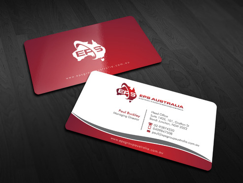 EPS Group Australia Business Cards and Stationery  Draft # 12 by Xpert