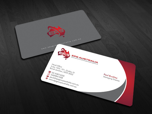 EPS Group Australia Business Cards and Stationery  Draft # 14 by Xpert