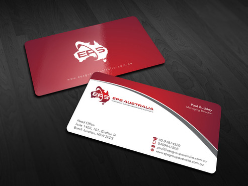 EPS Group Australia Business Cards and Stationery  Draft # 15 by Xpert