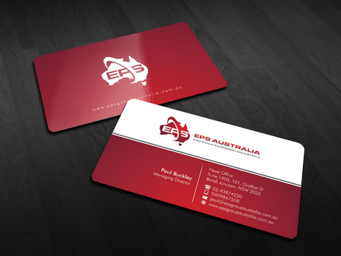 EPS Group Australia Business Cards and Stationery  Draft # 16 by Xpert