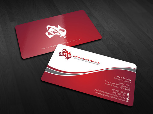 EPS Group Australia Business Cards and Stationery  Draft # 18 by Xpert