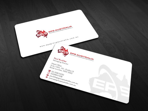 EPS Group Australia Business Cards and Stationery  Draft # 19 by Xpert
