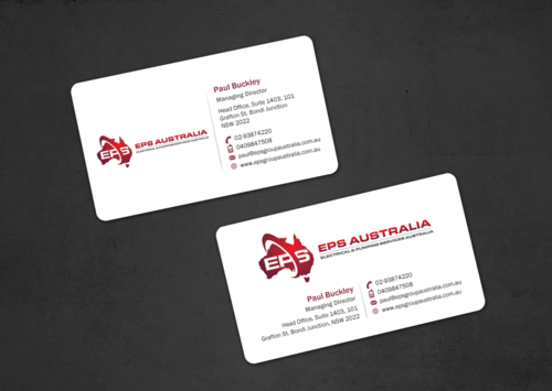 EPS Group Australia Business Cards and Stationery  Draft # 20 by einsanimation