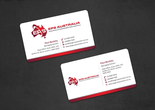 EPS Group Australia Business Cards and Stationery  Draft # 21 by einsanimation
