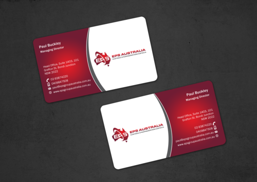 EPS Group Australia Business Cards and Stationery  Draft # 41 by einsanimation