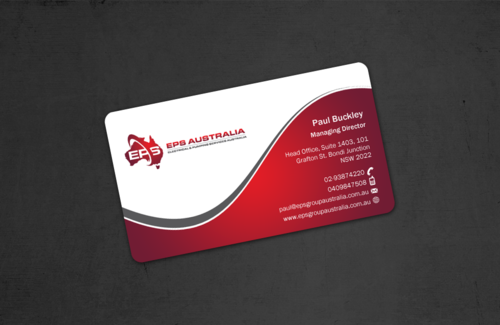 EPS Group Australia Business Cards and Stationery  Draft # 42 by einsanimation
