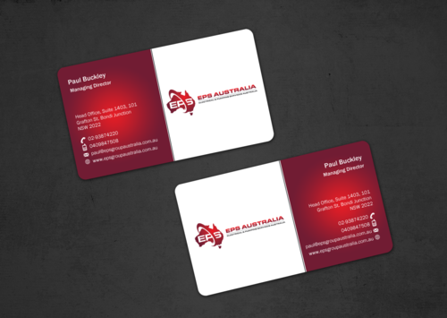 EPS Group Australia Business Cards and Stationery  Draft # 44 by einsanimation