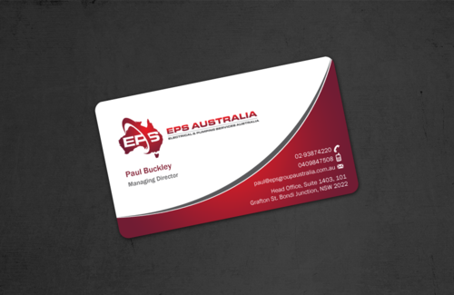 EPS Group Australia Business Cards and Stationery  Draft # 45 by einsanimation