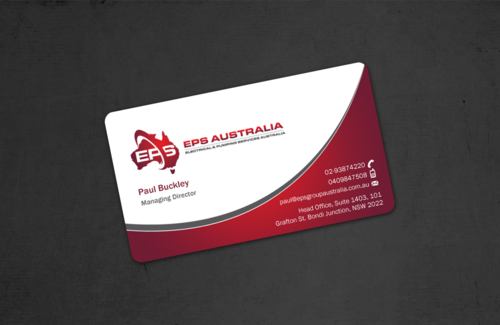 EPS Group Australia Business Cards and Stationery  Draft # 48 by einsanimation