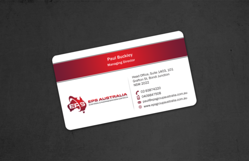 EPS Group Australia Business Cards and Stationery  Draft # 52 by einsanimation
