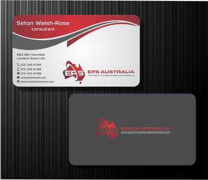 EPS Group Australia Business Cards and Stationery  Draft # 212 by Dawson