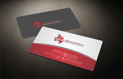 EPS Group Australia Business Cards and Stationery  Draft # 214 by Dawson
