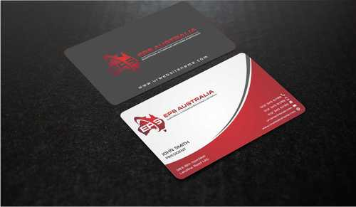 EPS Group Australia Business Cards and Stationery  Draft # 215 by Dawson