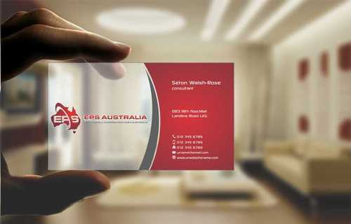EPS Group Australia Business Cards and Stationery  Draft # 217 by Dawson