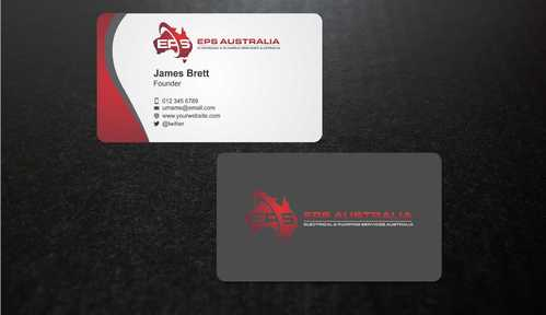 EPS Group Australia Business Cards and Stationery  Draft # 220 by Dawson