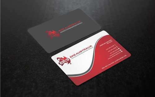 EPS Group Australia Business Cards and Stationery  Draft # 225 by Dawson
