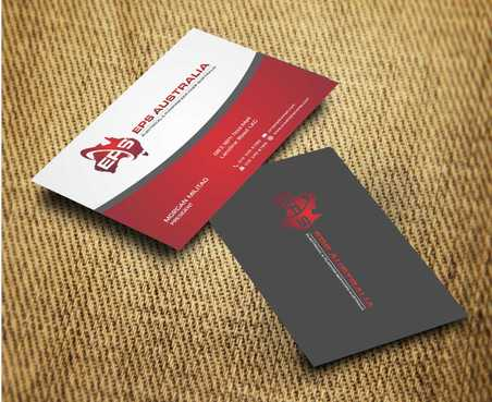 EPS Group Australia Business Cards and Stationery  Draft # 226 by Dawson
