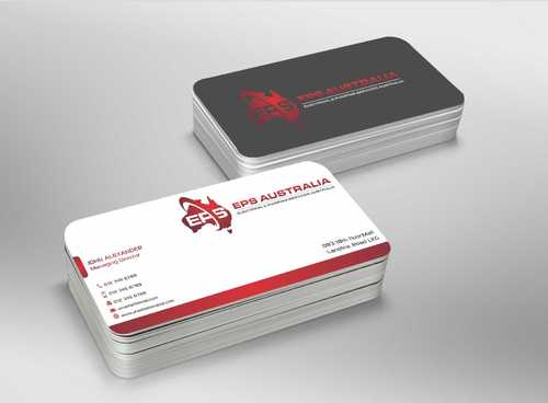 EPS Group Australia Business Cards and Stationery  Draft # 227 by Dawson
