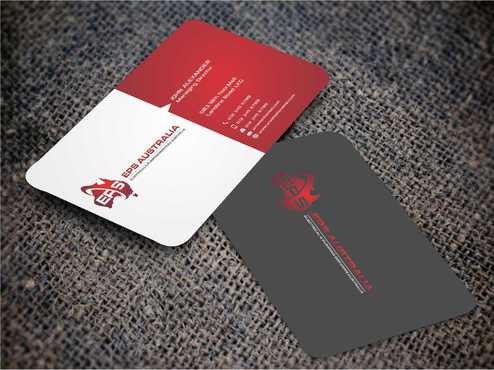 EPS Group Australia Business Cards and Stationery  Draft # 228 by Dawson