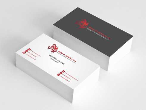 EPS Group Australia Business Cards and Stationery  Draft # 230 by Dawson
