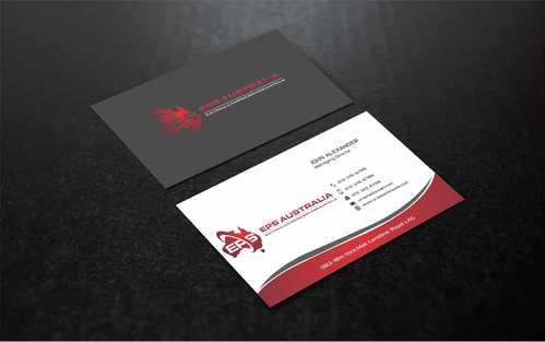 EPS Group Australia Business Cards and Stationery  Draft # 233 by Dawson