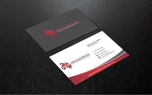 EPS Group Australia Business Cards and Stationery  Draft # 234 by Dawson