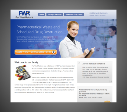 Scheduled Drug and Pharmaceutical Waste Destruction Marketing collateral  Draft # 6 by Kaiza