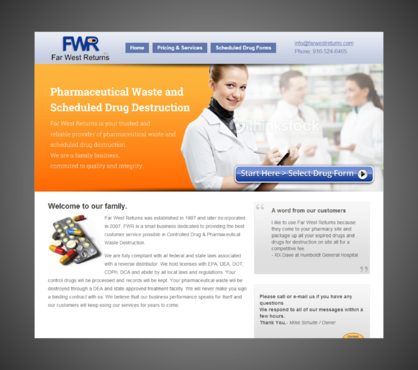 Scheduled Drug and Pharmaceutical Waste Destruction Marketing collateral  Draft # 7 by Kaiza