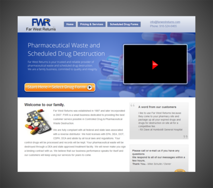 Scheduled Drug and Pharmaceutical Waste Destruction Marketing collateral  Draft # 15 by Kaiza