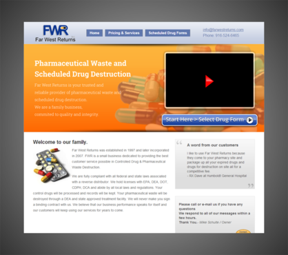 Scheduled Drug and Pharmaceutical Waste Destruction Marketing collateral  Draft # 16 by Kaiza