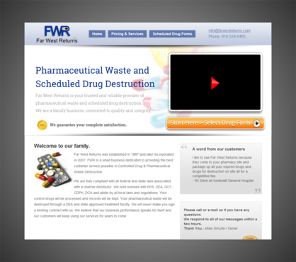 Scheduled Drug and Pharmaceutical Waste Destruction Marketing collateral  Draft # 17 by Kaiza