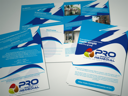 Pro group remedial Marketing collateral  Draft # 15 by thebullet